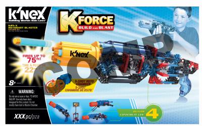 Knex Limited Partnership Group 2 Packs K-25X Rotoshot Blaster by Knex Limited Partnership Group