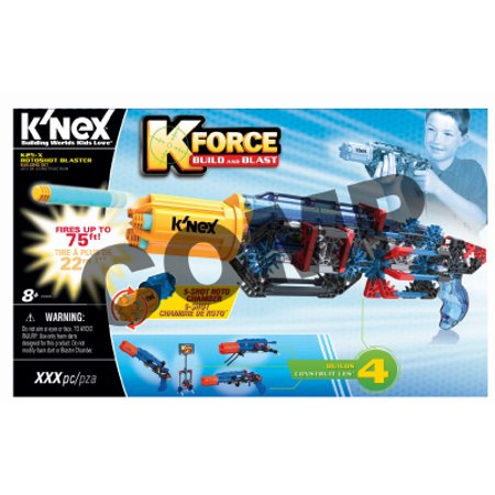 Knex Limited Partnership Group 2 Packs K 25X Rotoshot Blaster