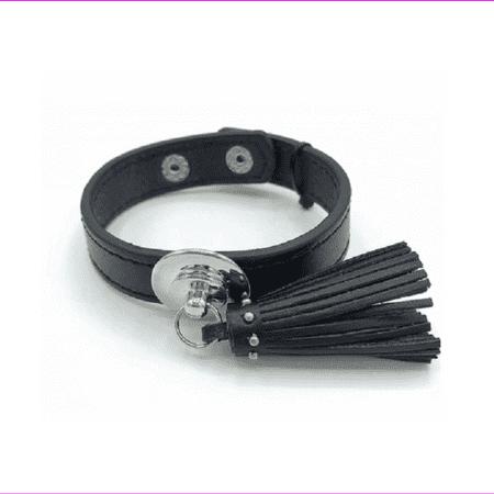 Macy's Natural Elements Womens Adjustable Pendant Leather Black Bracelet Macy Womens Shoes