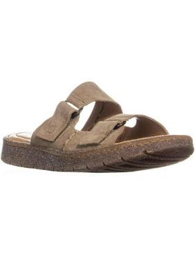 19d2b7f2b8a15 Product Image Womens Born Dominica Slide Flat Velcro Sandals