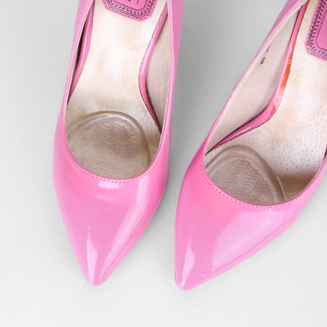 Gel Metatarsal Pad for Women Men High Heel Insert Rippled Pattern, 2 Pairs - image 1 of 5