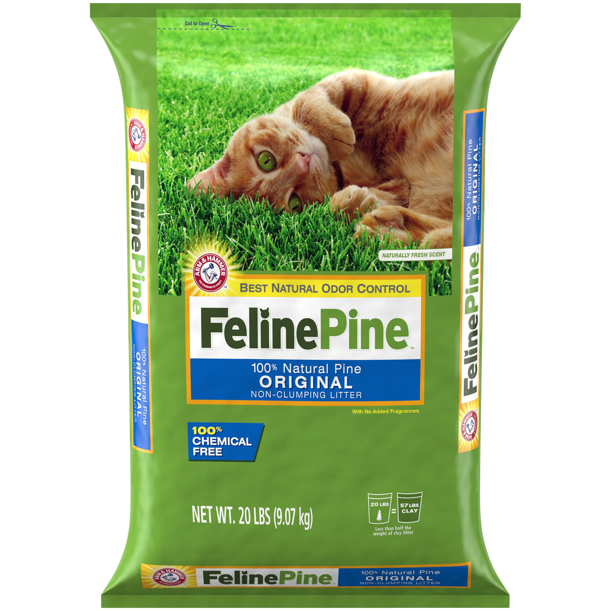 Feline Pine Original Cat Litter, 20 Lb.