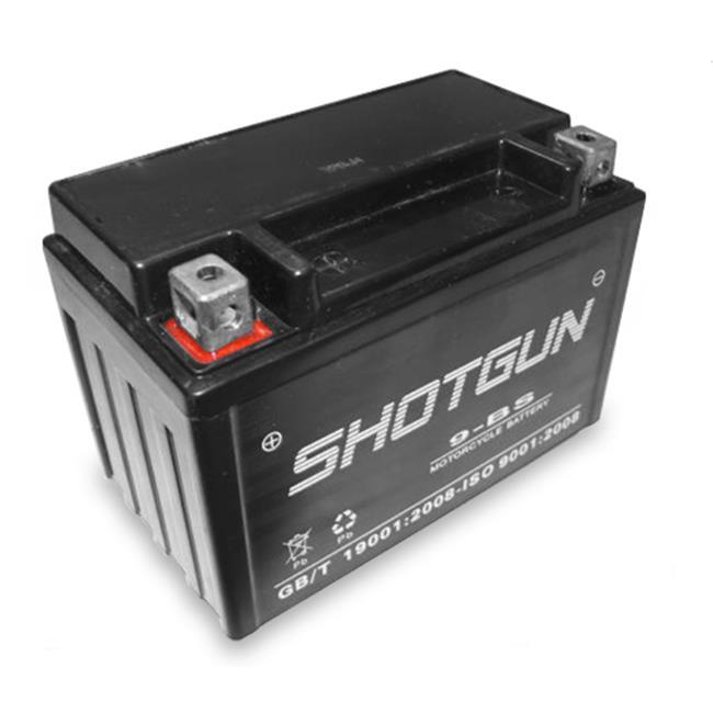 BatteryJack 9-BS-SHOTGUN-16 Shotgun YTX9 - BS Battery for HONDA VT600C, CD Shadow Deluxe, VLX 600cc 1988 - 2003