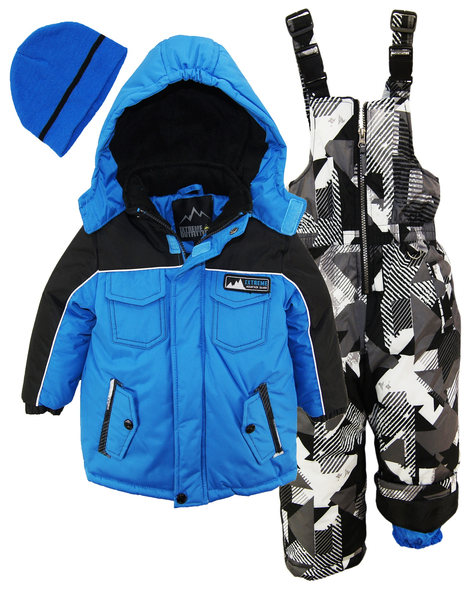 52dd2ecc3818 Ixtreme Little Boys Down Alternative Heavy Skiing Snowsuit Jacket ...