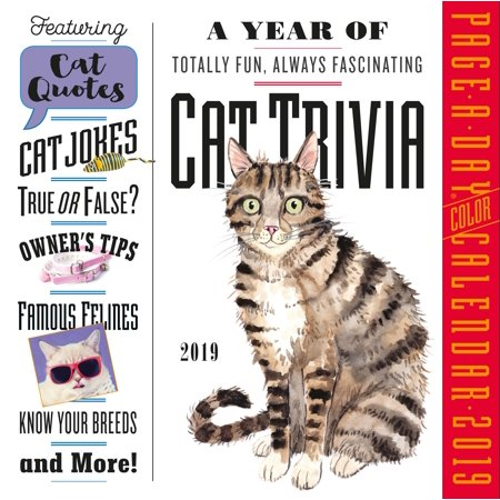 Siamese Cats 2010 Calendar (A Year of Cat Trivia Page-A-Day Calendar 2019)
