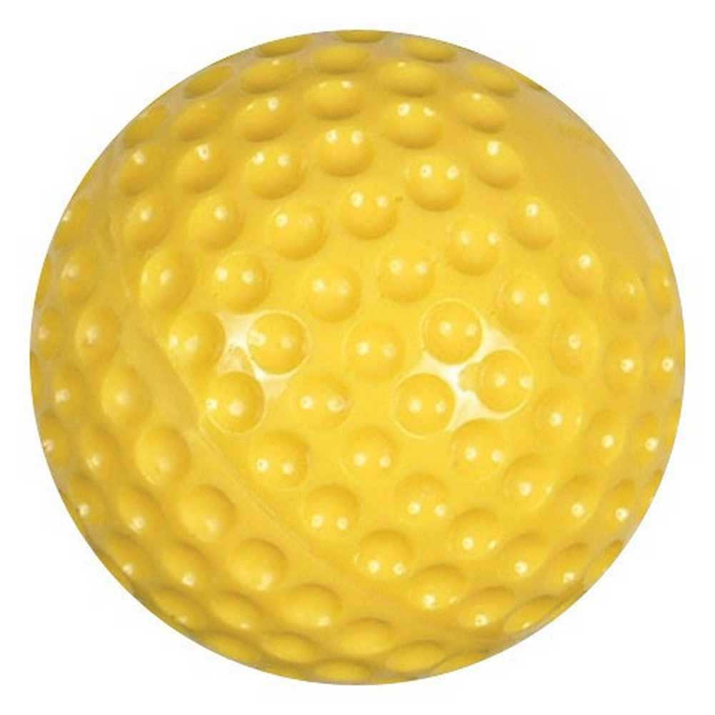 Champro Atec Pitching Machine Balls (Dozen) Soft Dimpled Baseball Yellow CBB-57