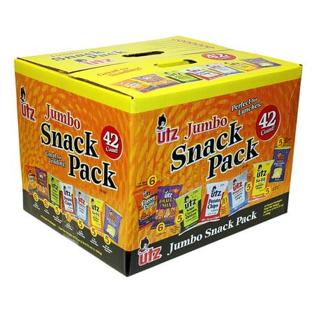 Utz Variety Snacks Pack, 42 Ct