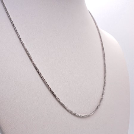 17.5 Inch Long 925 Silver Chain for Necklace - 80s Necklace