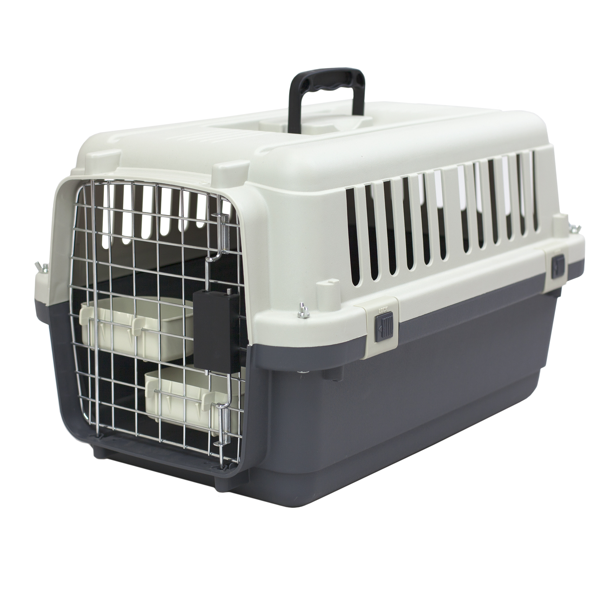 Kennels Direct Premium Plastic Dog Kennel and Travel Crate , Small