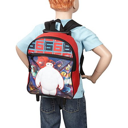 Disney Big Hero 6 Boys Small Rolling Backpack