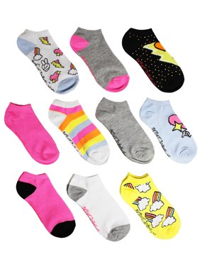 0104ef408 Product Image Betsey Johnson Girls Heart 10 pack Low Cut
