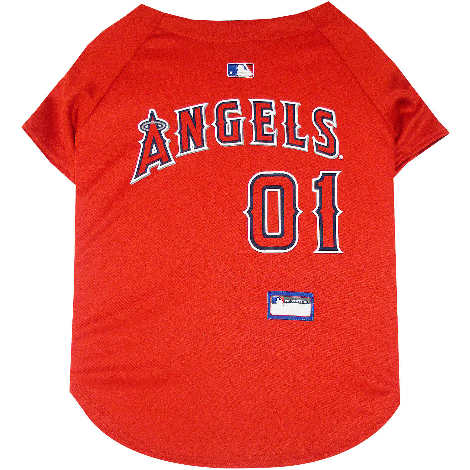 Pets First MLB Los Angeles Angels Pet Jersey