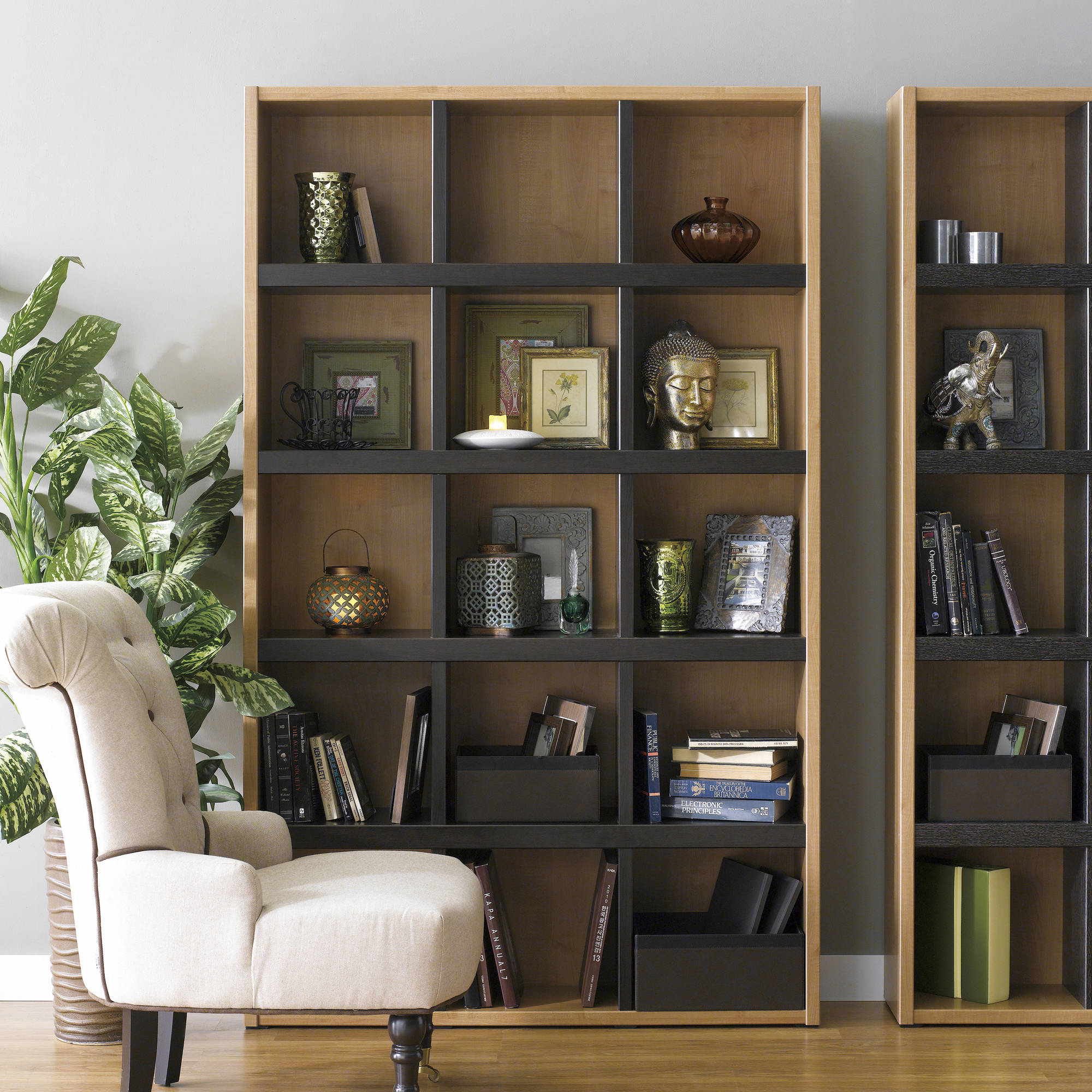 Boraam Techny Collection Scully Bookcase