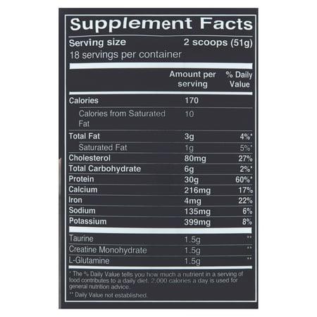 Equate Whey Protein Powder, Rich Chocolate, 30g Protein, 2.02lb, 32.38oz
