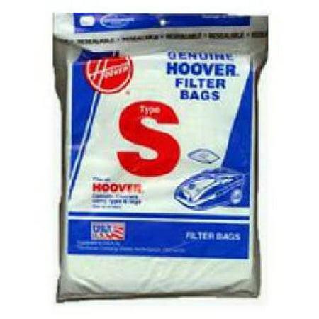 Hoover Type S Standard Paper Vacuum Bags Part # 4010064S - (Hoover Paper Bag)