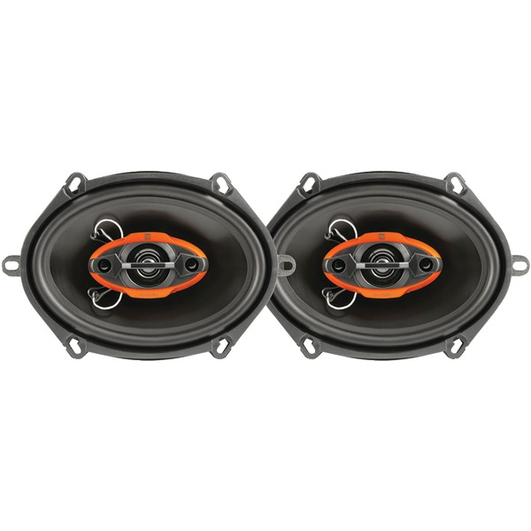 "DUAL DLS6840 DLS Series 4-Way Speakers (6"" x 8"")"