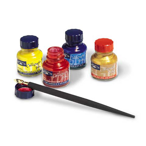 Winsor & Newton - Calligraphy Ink - Fountain, Dip, Technical Pen & Airbrush Ink - Sepia