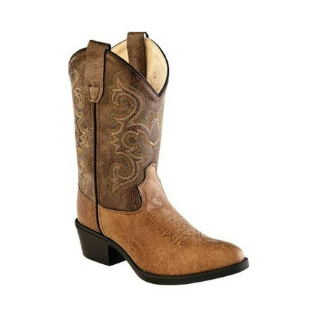 Children's Old West All Over J Toe Cowboy Boot (Costume Cowboy Boots)