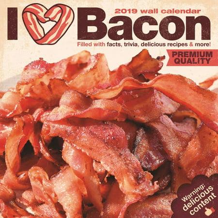 - 2019 I Heart Bacon Wall Calendar, Cooking by NMR Calendars