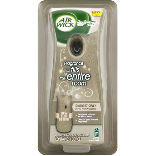 Air Wick Freshmatic Automatic Spray Air Freshener Dispenser, Stone Effect, 1 Count