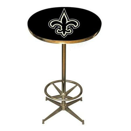 Imperial Billiards IMP-26-4031 New Orleans Saints NFL Pub Table