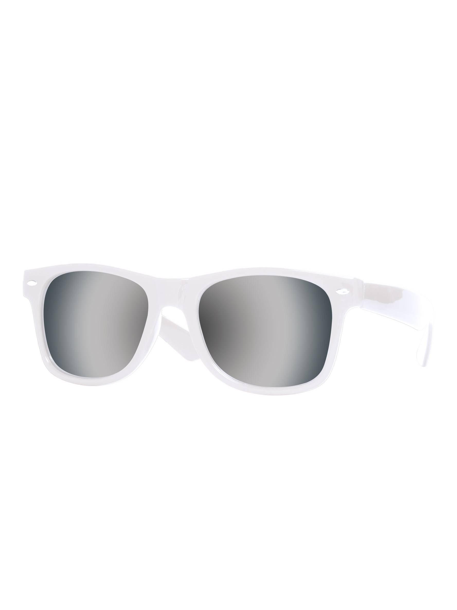 Gravity Shades Horn-Rimmed Mirror Sunglasses c4ecaf2a1