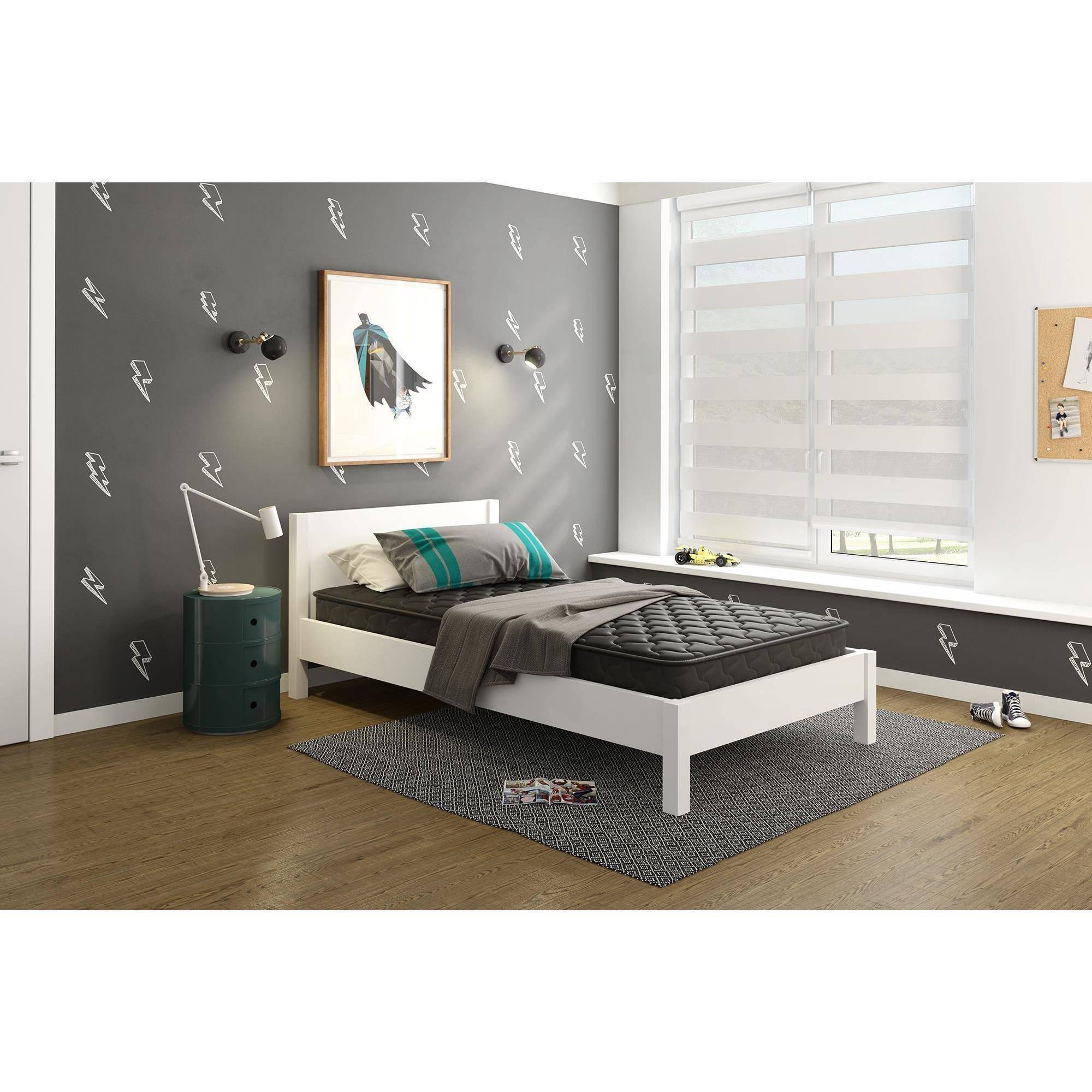 "Signature Sleep Essential - 6"" Black Coil Mattress, Multiple Sizes"