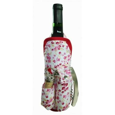 Picnic Rose - Picnic Gift 2040-LR Wine Apron - Lil Rose