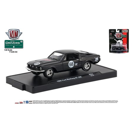 Mustang Gt Auto - M2 Machines Auto-Drivers 1:64 R54 1968 Ford Mustang GT 350 (LUNATI)