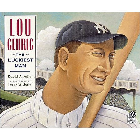 Lou Gehrig Autographed Baseball - Lou Gehrig : The Luckiest Man