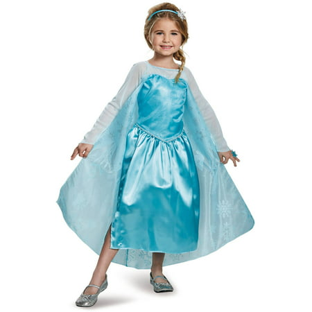 Frozen Elsa Costume with Ring, 3-4