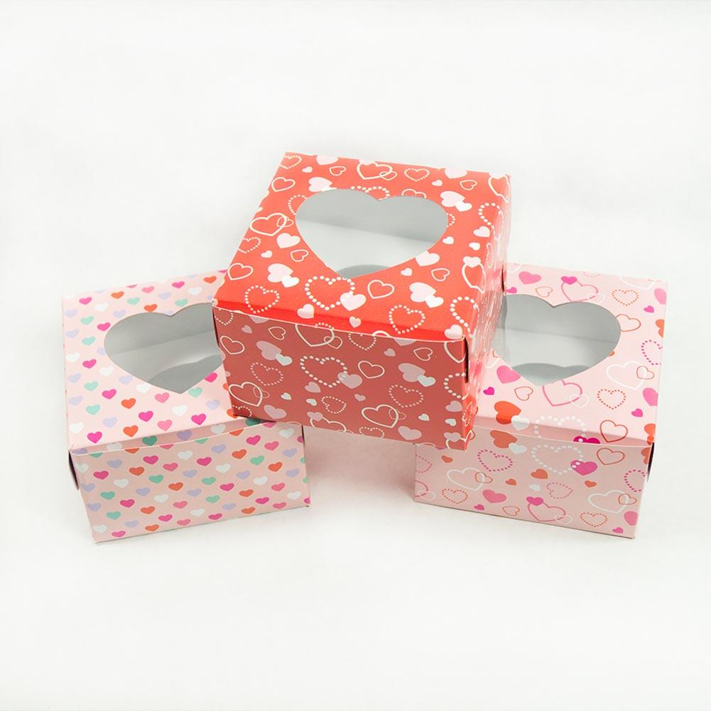 Valentine\'s Day Cupcake Boxes - Walmart.com