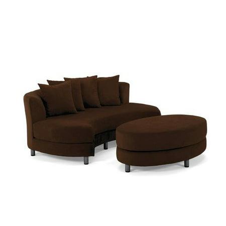 roundabout oval sofa sofa menzilperde net. Black Bedroom Furniture Sets. Home Design Ideas