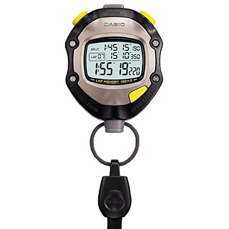 Multifunction Stopwatch - Casio Hs-70w Black Multi-function Digital Stopwatch Pile Comprise Battery Included
