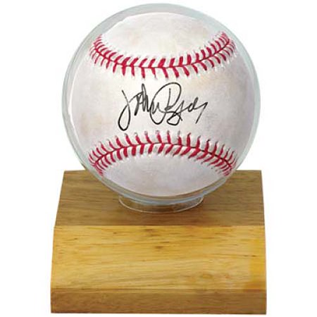 Ultra Pro Wood Base Baseball Holder