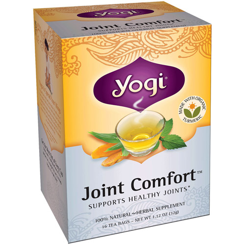 Yogi Joint Comfort Herbal Tea Bags, 16ct (Pack of 6)