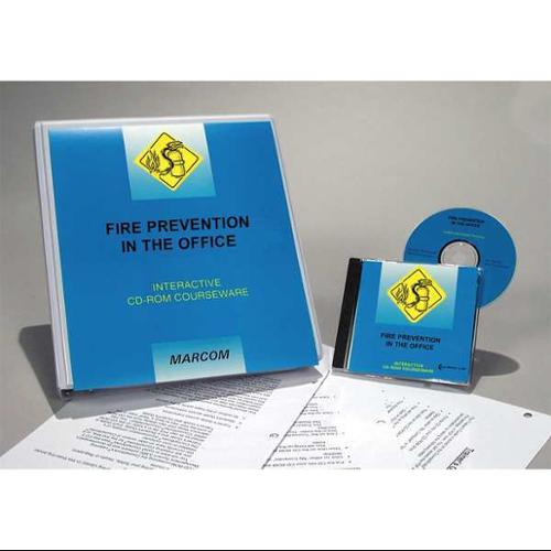 MARCOM C0000320SD Fire Safety Training, CD-ROM