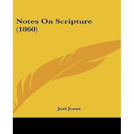 Notes on Scripture (1860) - image 1 of 1