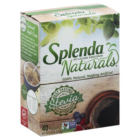 - (80 Packets) Splenda Naturals Stevia Sweetener Packets