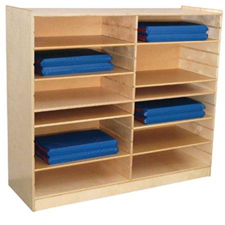 """Wood Designs WD50400 Folding Rest Mat Storage, 49 x 53 x 18"""" (H x W x D)"""