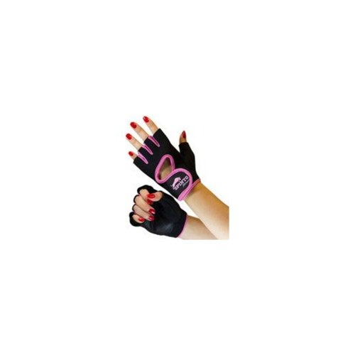 Spinto Neoprene Pink Large Women's Workout Gloves by Spinto USA, LLC