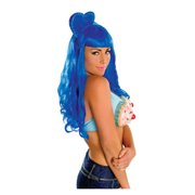 Katy Perry Deluxe Blue California Gurls Wig