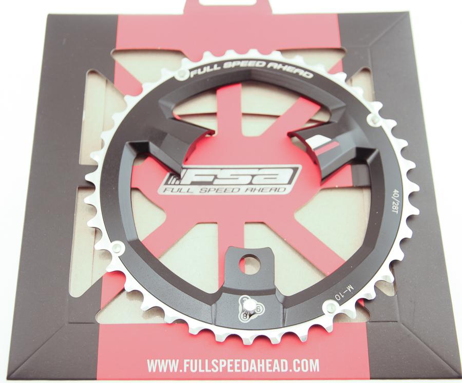 FSA 27T Pro MTB 386 Chainring X-10 Speed 86 BCD 3 Bolt Black Bike New NIB