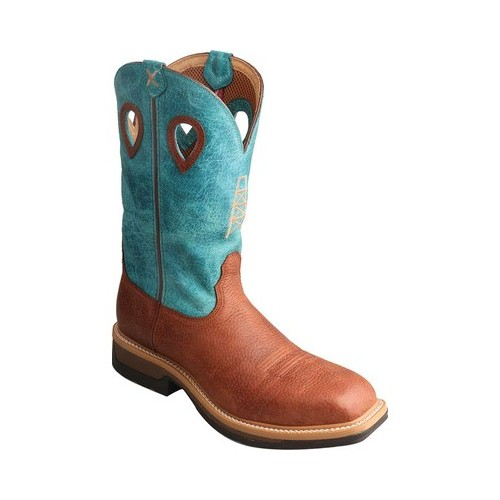 Men's Twisted X Boots MLCA004 Lightweight Alloy Toe Cowboy Work Boot