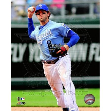 Posterazzi PFSAAOV04501 Mike Moustakas 2012 Action Photo Print -8.00 x 10.00 - image 1 of 1