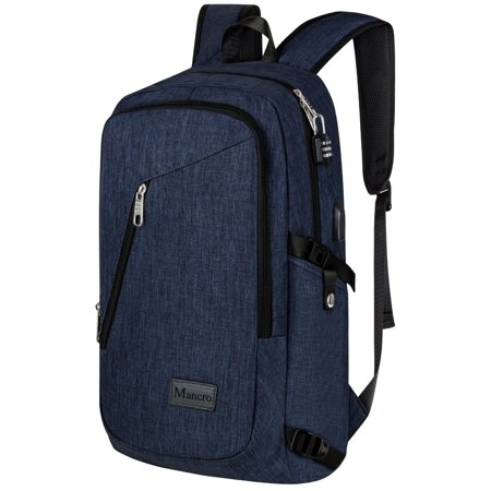 College Backpack 15 6 Inch Business Slim Laptop Anti Theft Water Resistant Computer