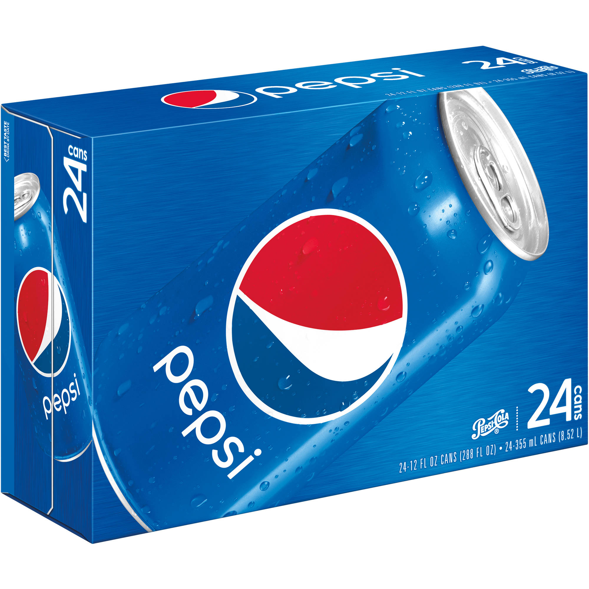 Pepsi Cola, 12 fl oz, 24 pack