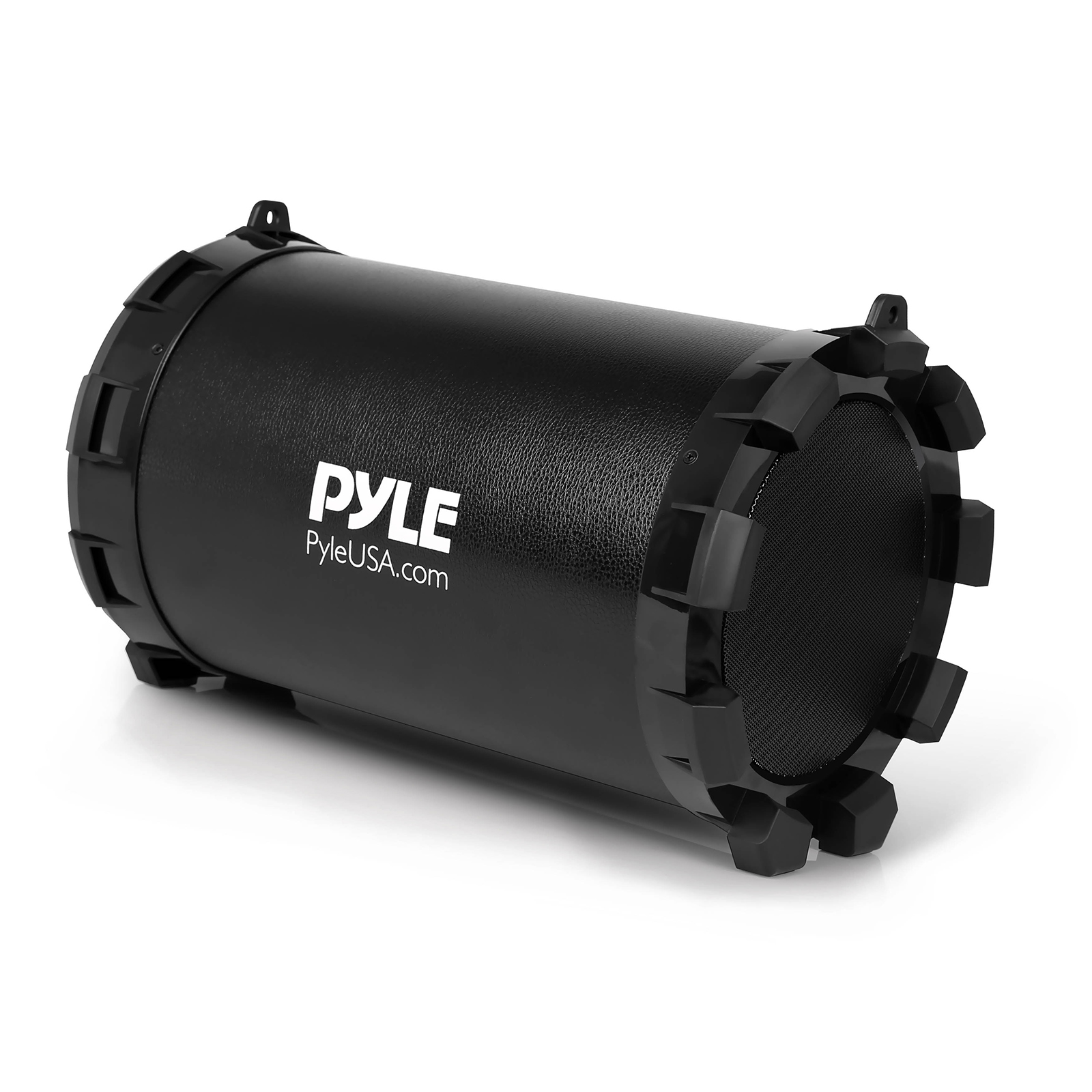 Pyle Portable BT BoomBox Stereo System, Built-in Battery, USB/SD/FM Radio