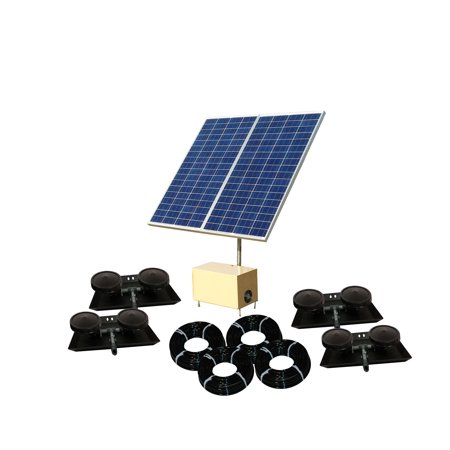 Pond Aeration System - Outdoor Water Solutions Solar AerMaster 5 Direct Drive Pond Aeration System