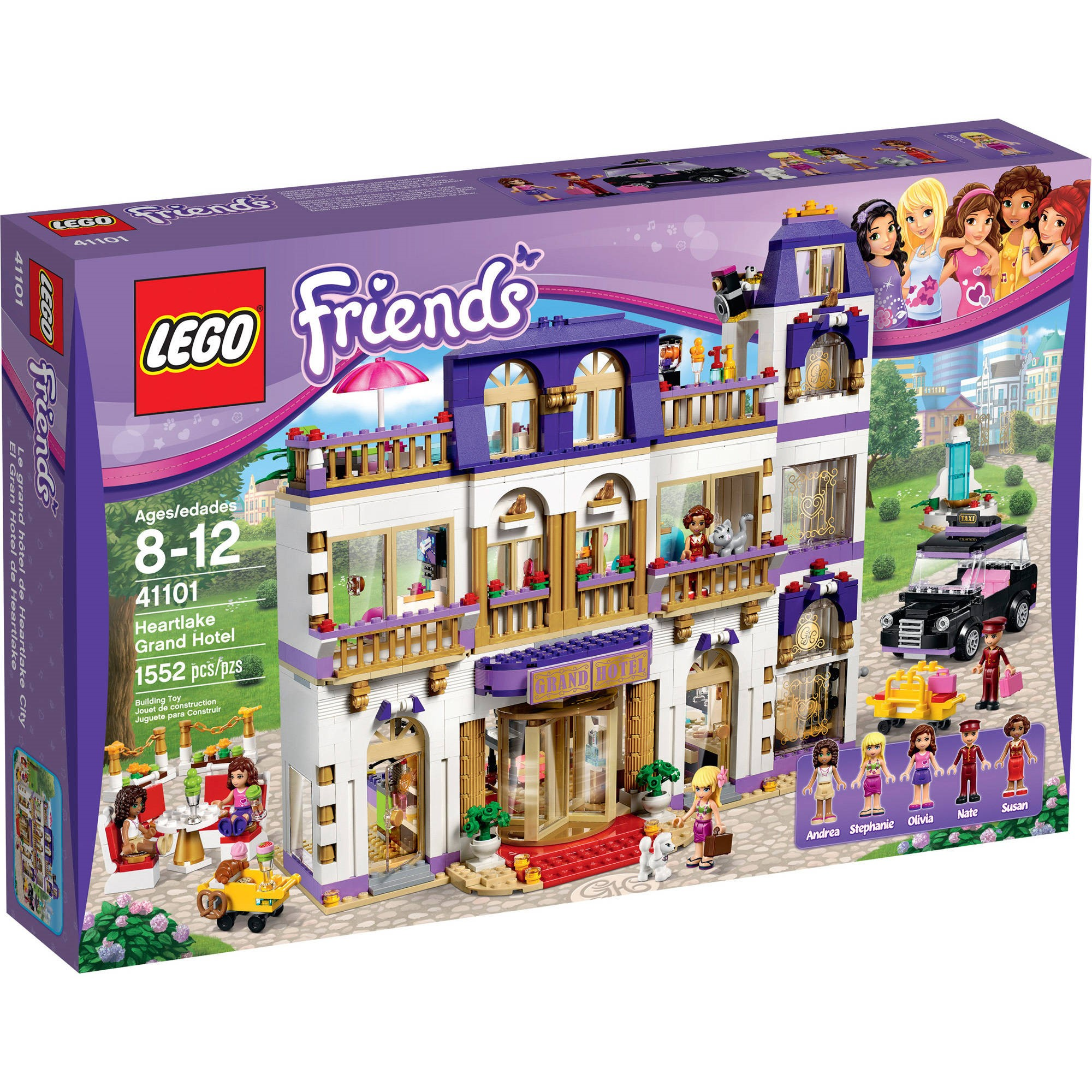 Lego Friends Heartlake Grand Hotel by Lego